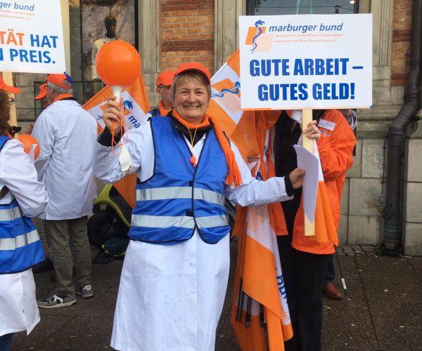 Kundgebung in Hannover 11/2018