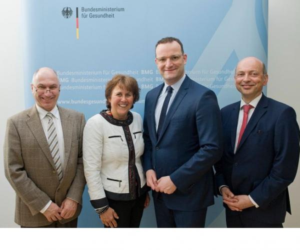 Treffen der Bundesvorstände mit Bundesgesundheitsminister Spahn (c) BMG